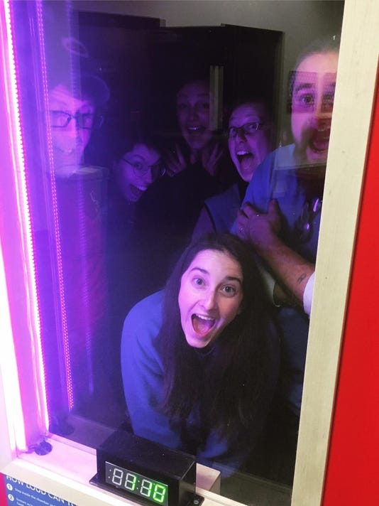 Sciencenter Staff In Scream Chamber