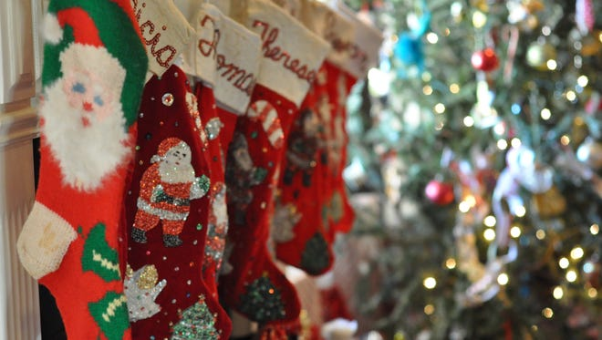 Though Christmas Day is past, the Schneider family's stockings and Christmas tree will remain up through Epiphany on Wednesday. For the Alexandria family, Dec. 25 marks only the beginning of the Christmas season.