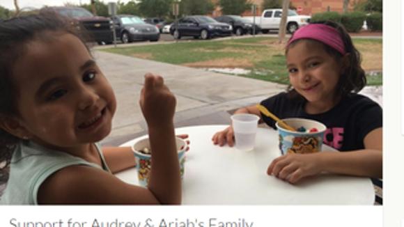Audrey and Ariah