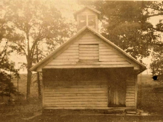 The old union session building before it was torn down