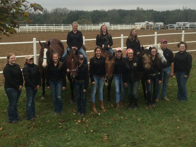 Howell's equestrian team could become the first in school history to win three straight state championships.