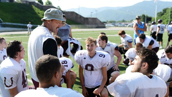 Owen football coach Kenny Ford and the Warhorses travel to Reynolds on Friday.