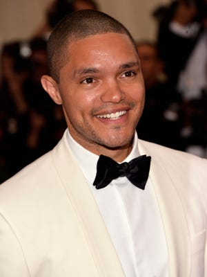 'Daily Show' host-to-be Trevor Noah, shown here at an earlier 2015 event, displayed his comic skills during a 65-minute standup routine Tuesday in Santa Monica, Calif.