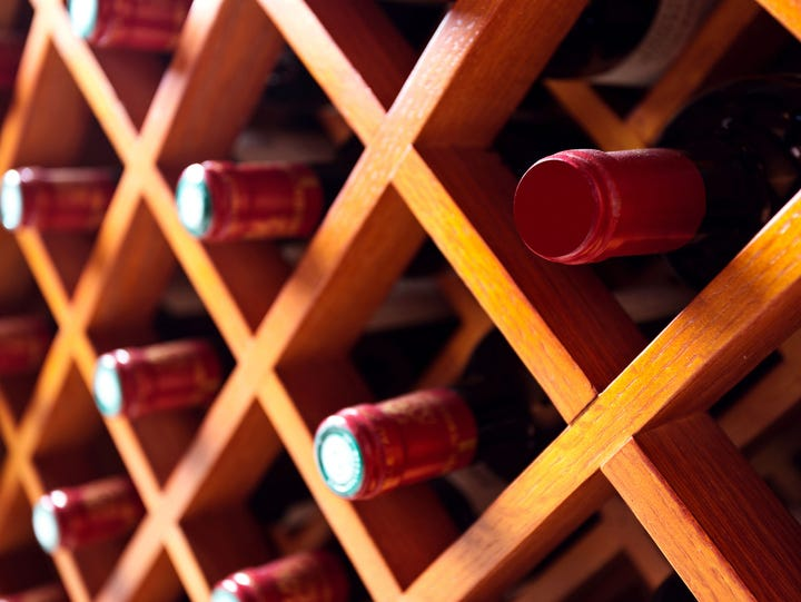 It is important to store wine properly, preferably