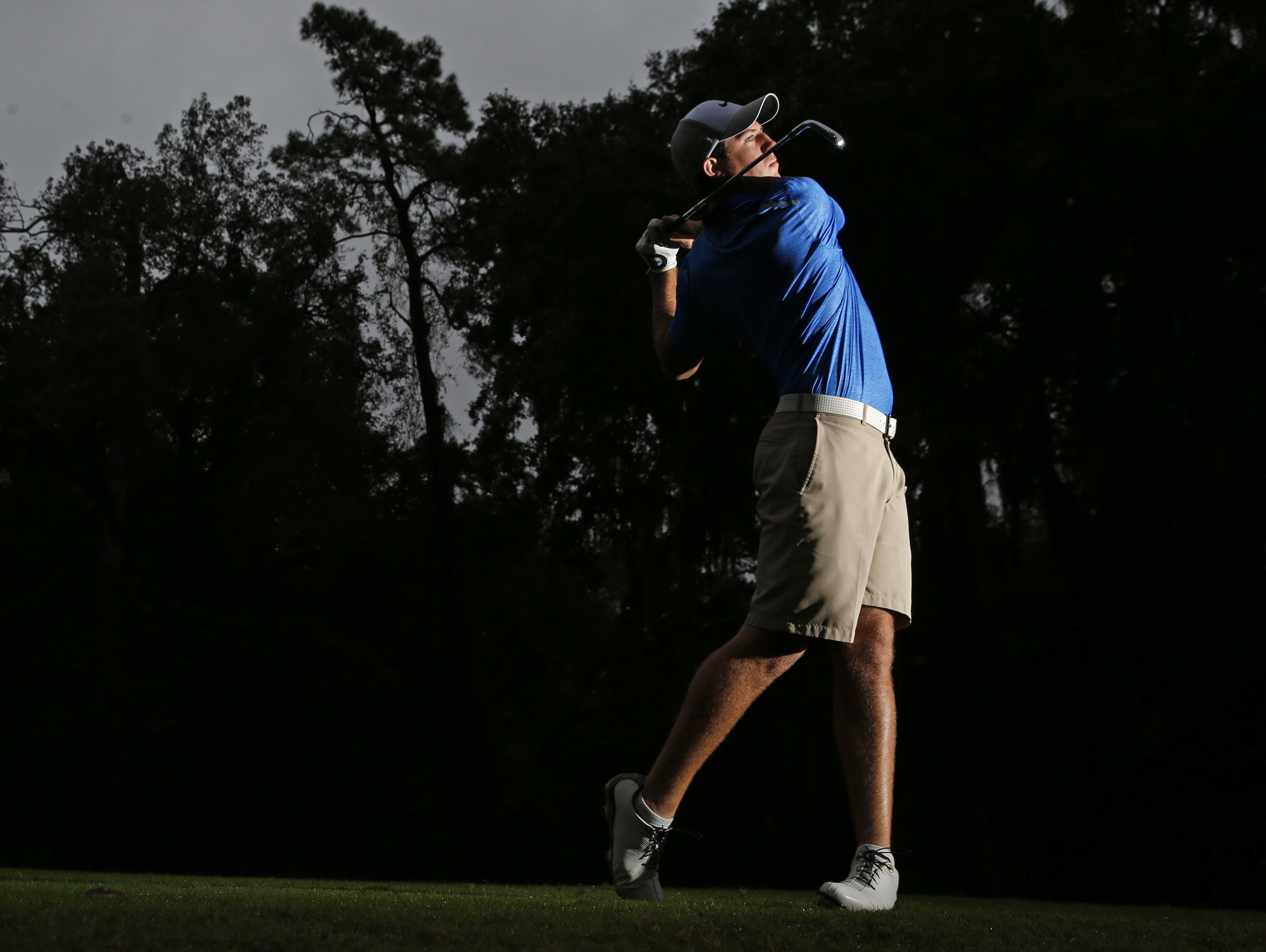 The 2015 All-Big Bend Player of the Year for boys golf is Taylor County senior Cole Wentworth, who won district and regional titles for the Bulldogs.