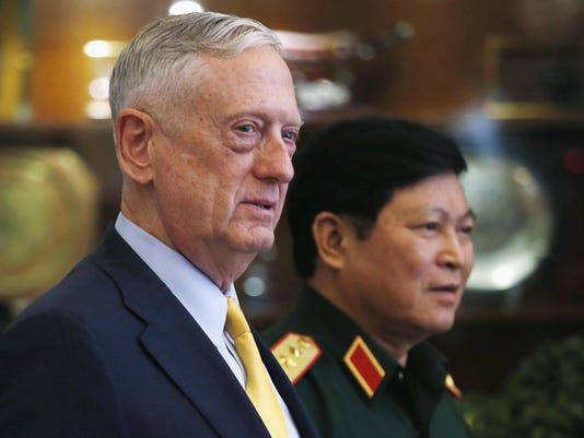 Jim Mattis,Ngo Xuan Lich
