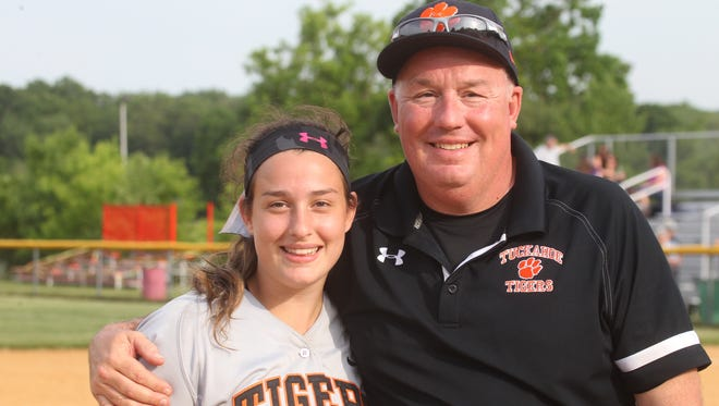 Tuckahoe beat Haldane 3-2 in the Class C softball section final at North Rockland May 29, 2015.