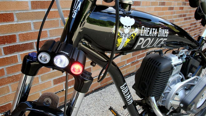 The South Milwaukee Police Department has entered into a partnership with Cheata Bikes to use the new motorized bicycles when officers are out on bicycle patrol. The bicycles reduce officer fatigue and add to mobility and speed, as well as increase contact and communication with residents.