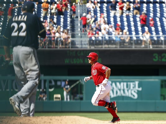 MLB: Milwaukee Brewers at Washington Nationals