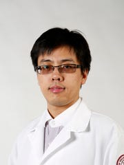 Medical scientist Yu He, 29, of White Plains.