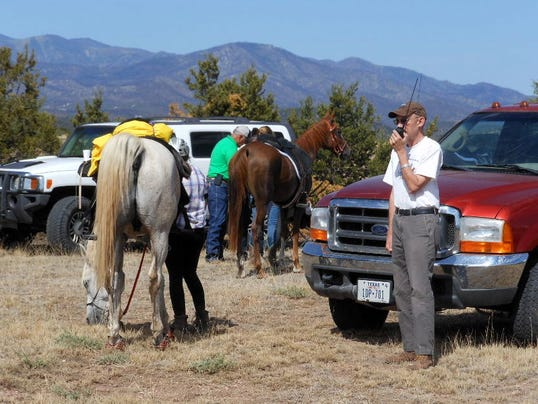 sierra Blanca Amateur Radio Club at Fort Stanton Endurance Ride