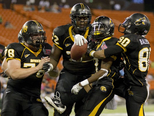Southern Miss defeated Nevada at the Hawaii Bowl in