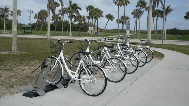 St. Lucie County's Transit Division has partnered with Zagster on a two-year pilot program that will create nine bicycle rental stations throughout the county, including stations on South Hutchinson Island at Jaycee Park and the St. Lucie Aquarium.