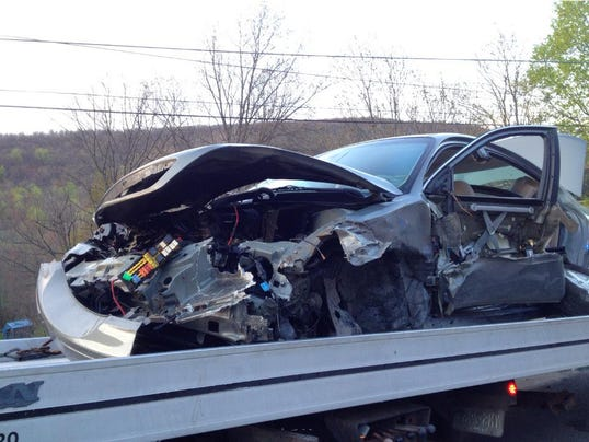 Police have closed part of Waynesboro Pike in Hamiltonban Township because of a crash with entrapment on April 21.
