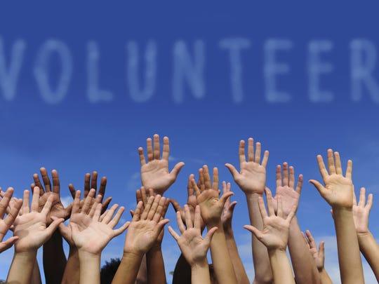 United Way volunteers