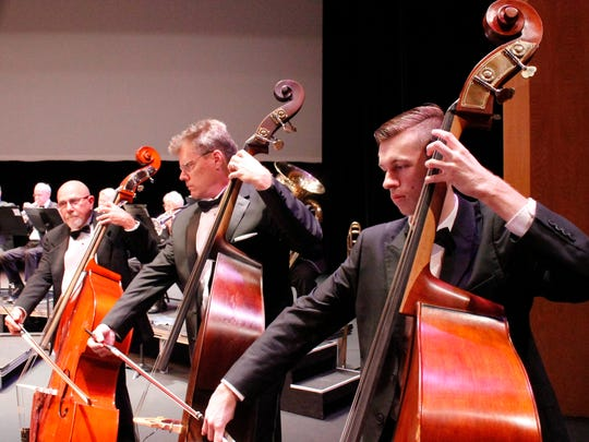 Cellists for the Indian River POPs Orchestra