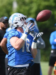 Lions wide receiver Jace Billingsley spent most of