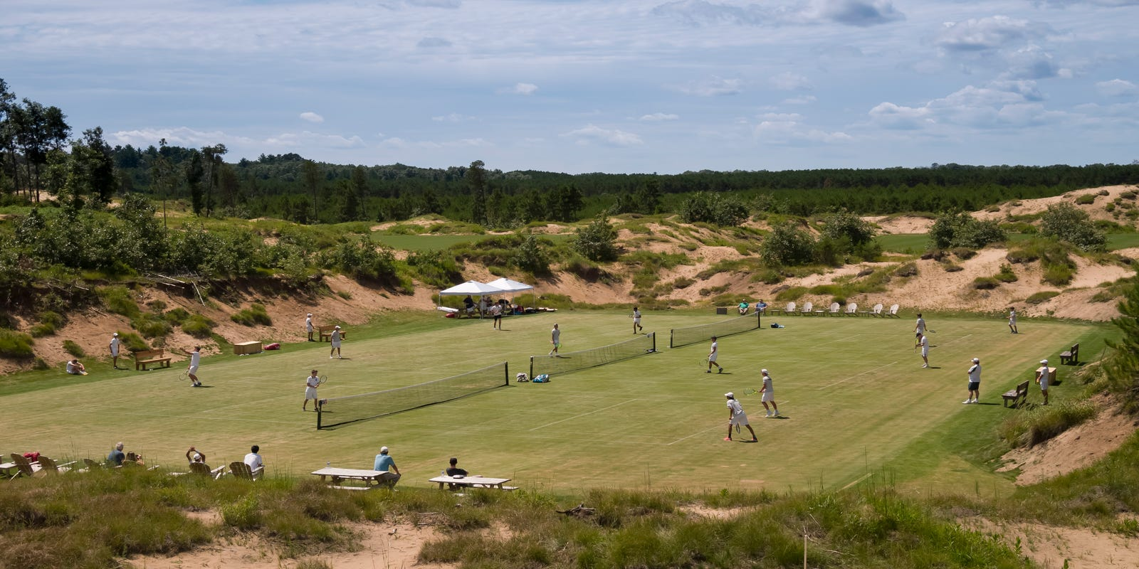 Sand Valley Golf Resort serves up tennis, local food in Rome