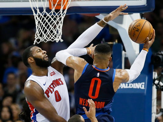 Andre Drummond, Russell Westbrook