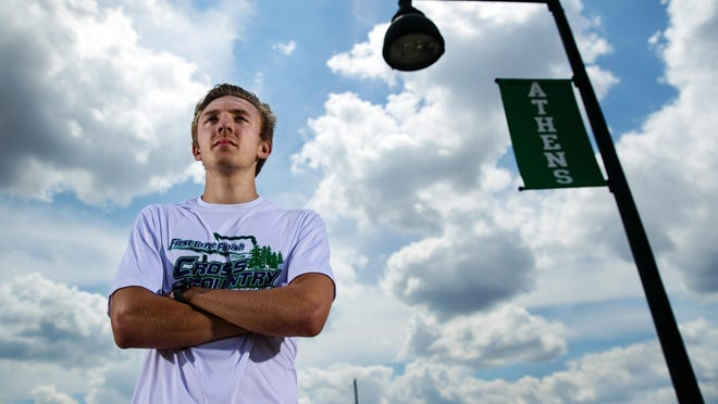 Athens High School's Noah McIntyre is The State Journal-Register's Small School Boys Cross Country Runner of the Year.