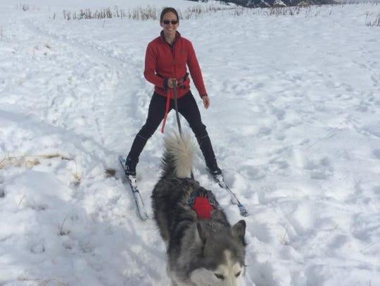 Ashley Van Hemert, 32, originally of Sioux Falls, with