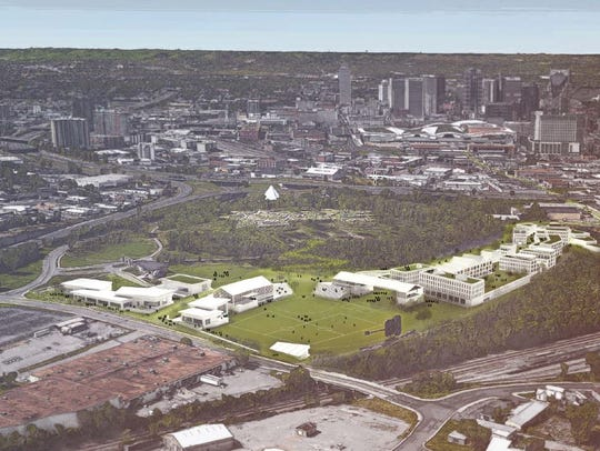 A visualization of the proposed redevelopment.