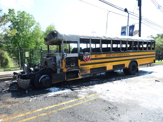 Wayne Nj School Bus Catches Fire