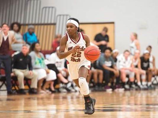 Florida Tech senior guard, DeLise Williams, No. 22.