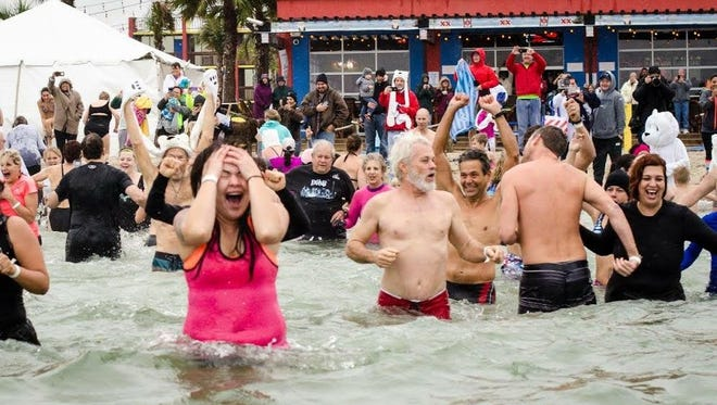 The third annual Polar Bear Plunge returns to North Beach near Fajitaville on New Year's Day.
