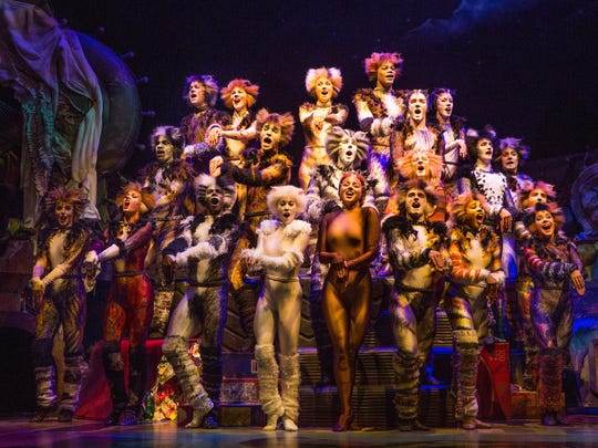 "A revival of ""CATS"" opened Sunday on Broadway and Emily"