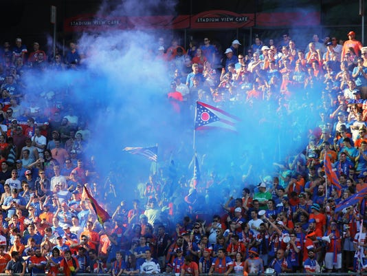 July 16, 2016. FC, Cincinnati, Crystal Palace, soccer,, Liz Dufour