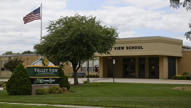 Valley View Elementary School in Ashwaubenon. The Ashwaubenon School District is likely to see the largest decrease in state aid in the Green Bay area.