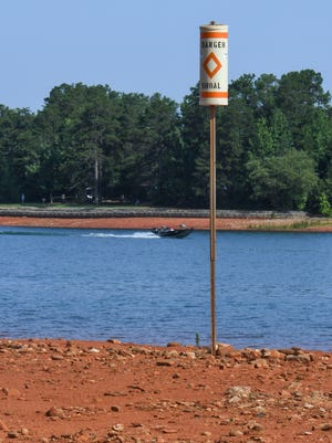 Lake Hartwell is six feet below full pool despite recent record rainfall in the last several weeks. Corps officials will host an open house Monday in Toccoa for lake users.
