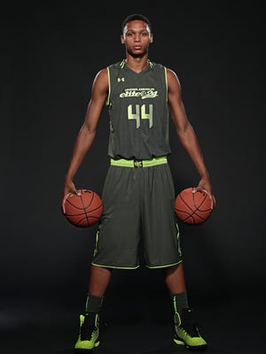 Ivan Rabb at 2014 Under Armour Elite 24 in New York. (Photo by Kelly Kline/Under Armour)