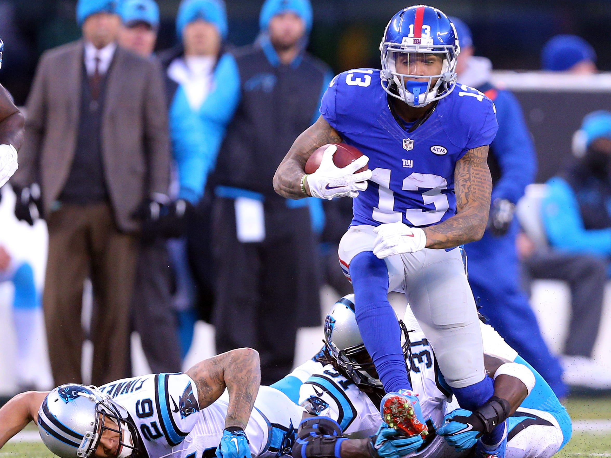 Odell Beckham junior lands at No. 45 on our list of