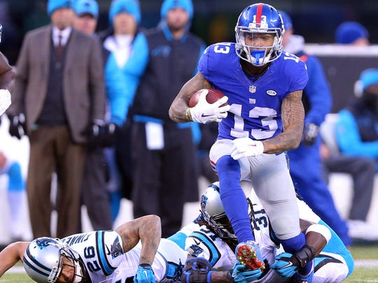 Odell Beckham junior lands at No. 45 on our list of the Top 100 most important people in the NFL.