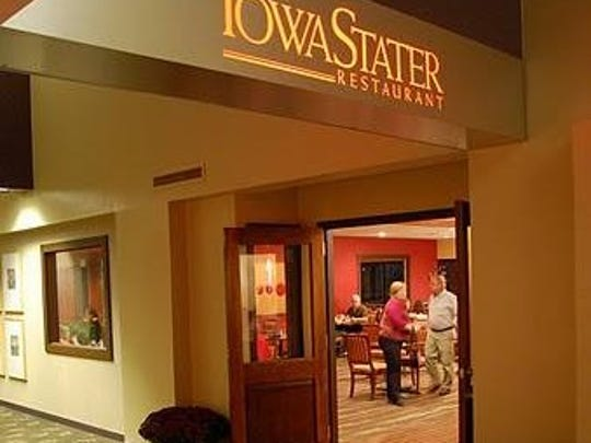 The IowaStater Restaurant is located in the Gateway Hotel and Conference Center in Ames.