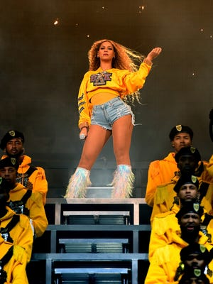 Beyonce performs at Coachella.