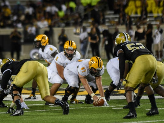 Alabama State vs. Kennesaw State on Sept. 16, 2017.