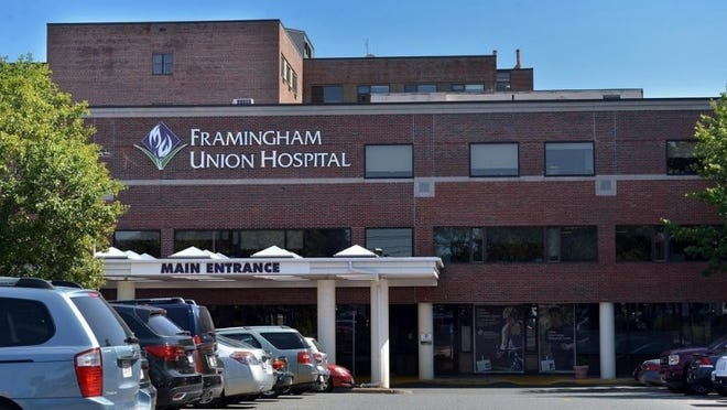 As of Saturday, state health officials reported that MetroWest Medical Center's Framingham Union Hospital in Framingham had 24 COVID-19 patients, with four being treated in the intensive care unit.