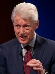 """I feel like I'm an old dog and this is a new trick,"" former president Bill Clinton said of his new mystery."