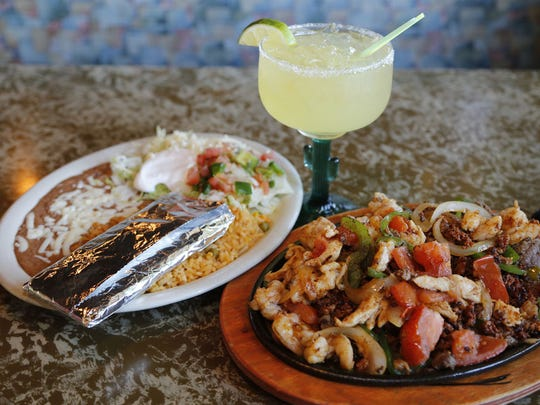 Fajitas Rancheras with Margarita at El Rodeo at 1310 NW 118th Street, Clive.