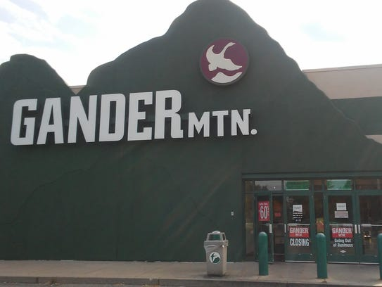 The Gander Mountain store in West Manchester Township