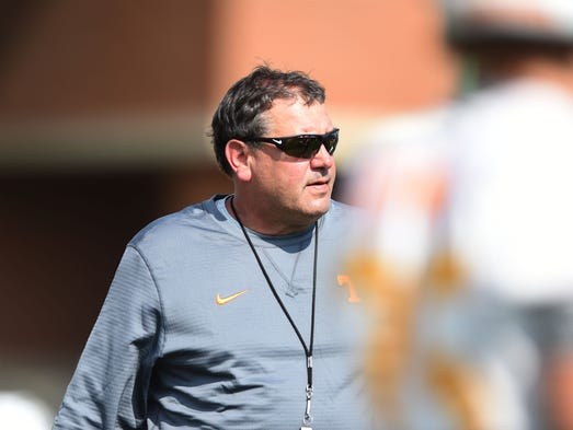 Brady Hoke, University of Tennessee's new defensive