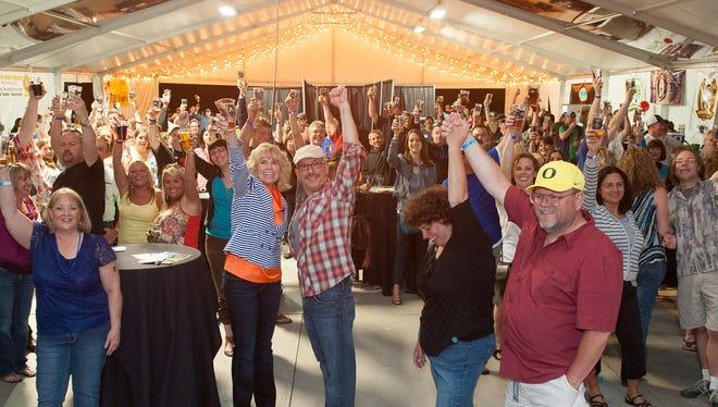 Oregon Garden Brewfest takes place June 17-19 in Silverton.