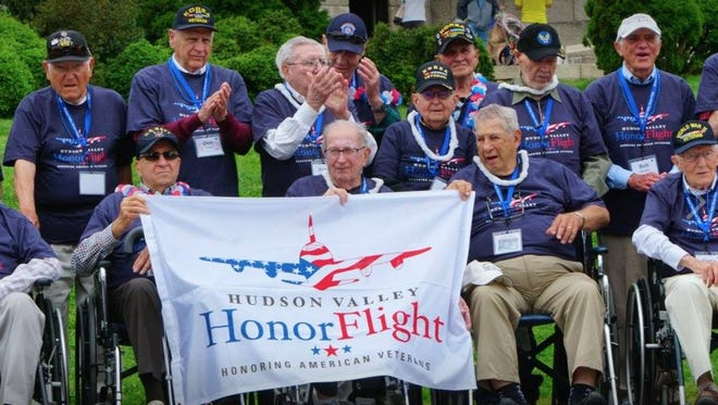 Military veterans from Westchester County visited war memorials in Washington D.C. recently during a trip sponsored by Hudson Valley Honor Flight. The organization has sent 400 local veterans to Washington D.C. for one-day trips over the past four years. It may have to cancel future flights if it doesn't find a new source of funding.