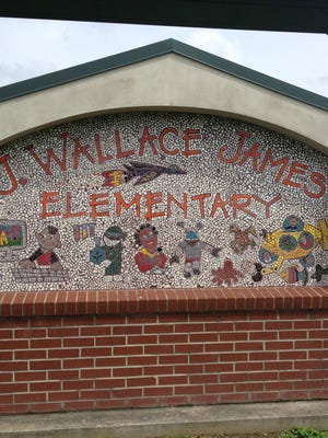 J. Wallace James Elementary could be affected by a proposal to give enrollment preference to neighborhood students.