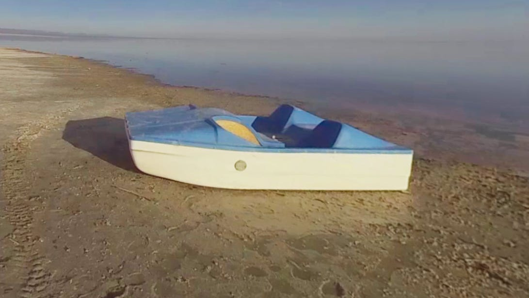 Salton Sea in 360: From boat races and Sinatra to dying lake