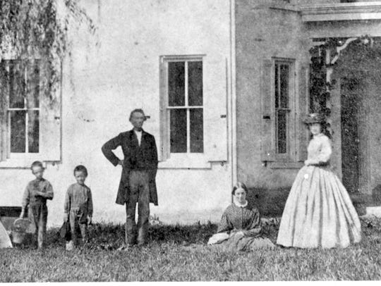 The family of John T. Glover, whose grandfather built