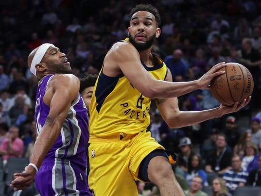 NBA: Indiana Pacers at Sacramento Kings